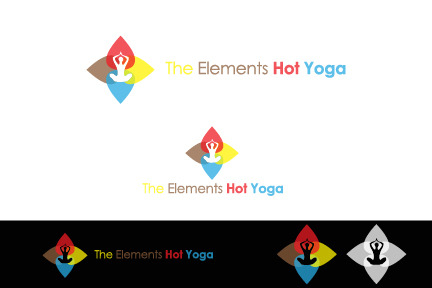 The Elements Hot Yoga A Logo, Monogram, or Icon  Draft # 24 by jestony