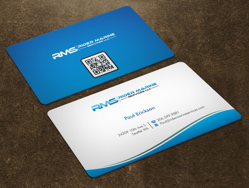 Yacht Electrician  Business Cards and Stationery  Draft # 5 by Xpert