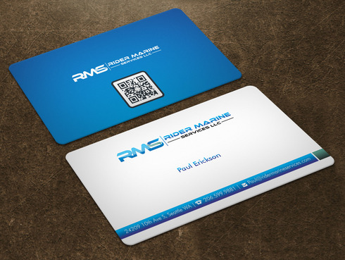 Yacht Electrician  Business Cards and Stationery  Draft # 7 by Xpert