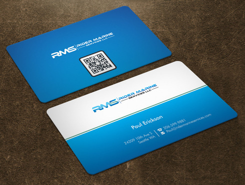 Yacht Electrician  Business Cards and Stationery  Draft # 8 by Xpert
