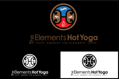 The Elements Hot Yoga A Logo, Monogram, or Icon  Draft # 47 by fesacarlo