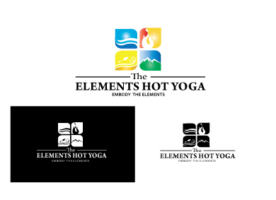 The Elements Hot Yoga A Logo, Monogram, or Icon  Draft # 87 by jegard