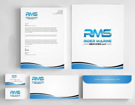 Yacht Electrician  Business Cards and Stationery  Draft # 332 by Dawson
