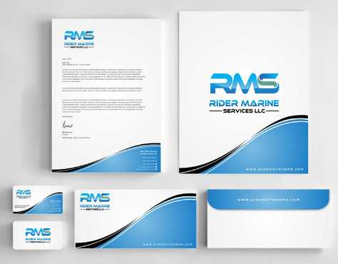 Yacht Electrician  Business Cards and Stationery  Draft # 333 by Dawson