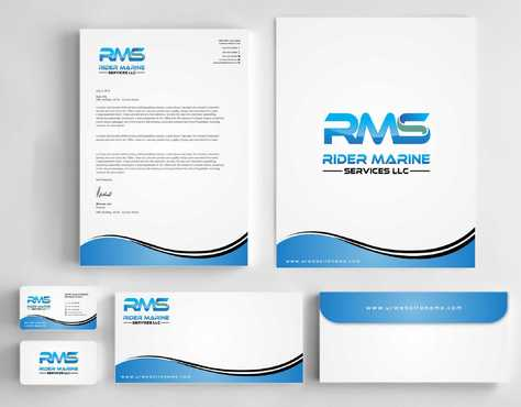 Yacht Electrician  Business Cards and Stationery  Draft # 334 by Dawson