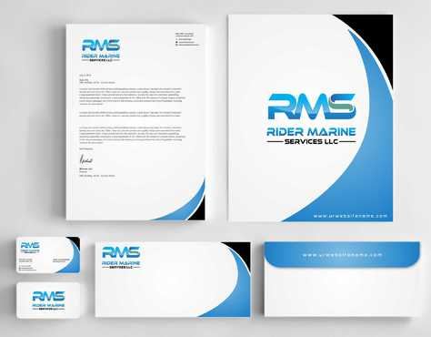 Yacht Electrician  Business Cards and Stationery  Draft # 335 by Dawson