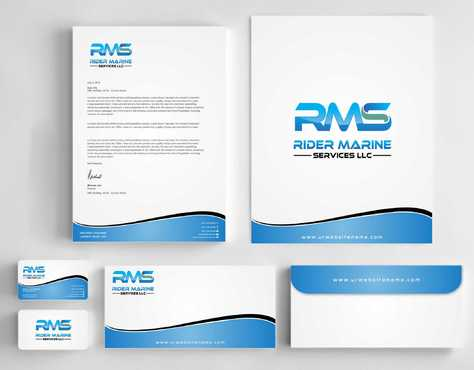 Yacht Electrician  Business Cards and Stationery  Draft # 339 by Dawson
