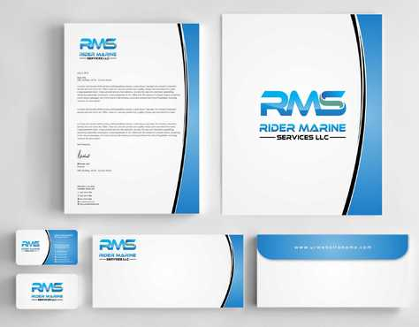Yacht Electrician  Business Cards and Stationery  Draft # 341 by Dawson