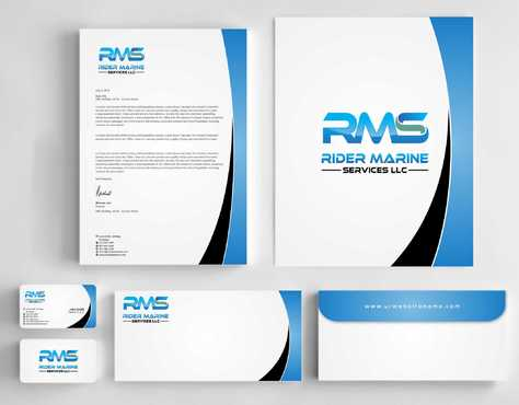 Yacht Electrician  Business Cards and Stationery  Draft # 343 by Dawson