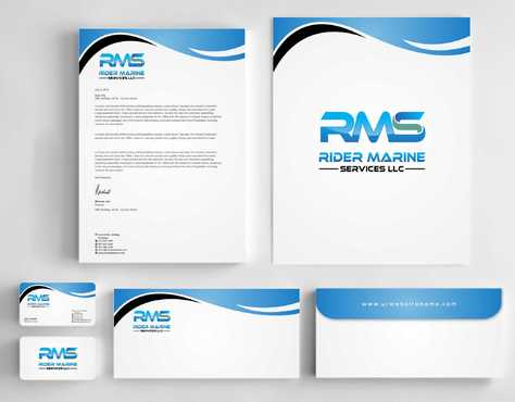 Yacht Electrician  Business Cards and Stationery  Draft # 344 by Dawson