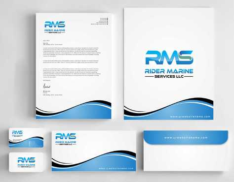 Yacht Electrician  Business Cards and Stationery  Draft # 345 by Dawson