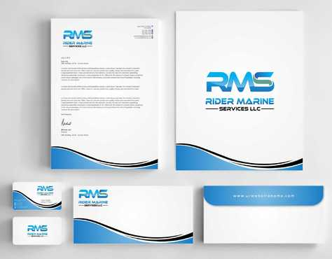 Yacht Electrician  Business Cards and Stationery  Draft # 351 by Dawson