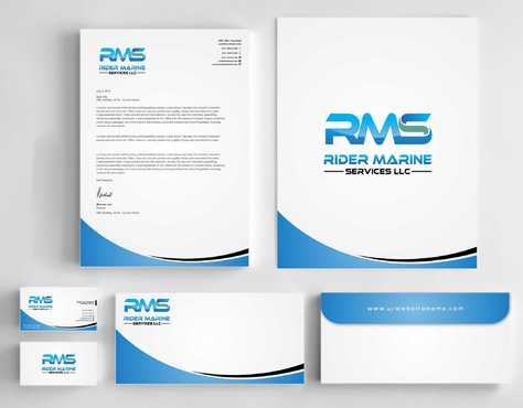 Yacht Electrician  Business Cards and Stationery  Draft # 352 by Dawson