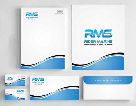 Yacht Electrician  Business Cards and Stationery  Draft # 353 by Dawson