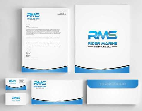 Yacht Electrician  Business Cards and Stationery  Draft # 354 by Dawson