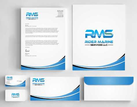 Yacht Electrician  Business Cards and Stationery  Draft # 355 by Dawson