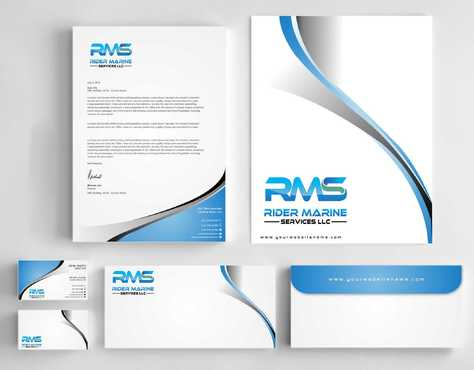 Yacht Electrician  Business Cards and Stationery  Draft # 356 by Dawson