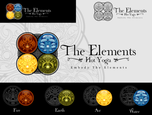 The Elements Hot Yoga A Logo, Monogram, or Icon  Draft # 111 by Scarl8