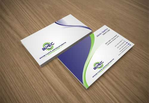 Bridge Parts and Equipments Corporation Business Cards and Stationery  Draft # 224 by Dawson