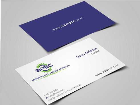 Bridge Parts and Equipments Corporation Business Cards and Stationery  Draft # 226 by Dawson