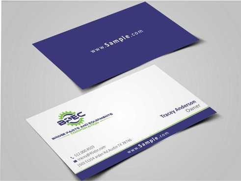 Bridge Parts and Equipments Corporation Business Cards and Stationery  Draft # 227 by Dawson
