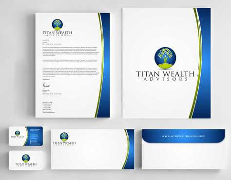 Business Card, 2-Pocket Folder, Letterhead  Business Cards and Stationery  Draft # 259 by Dawson