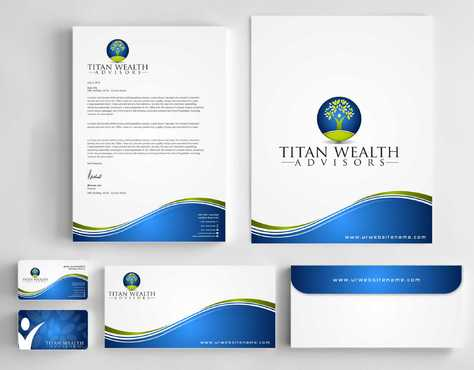 Business Card, 2-Pocket Folder, Letterhead  Business Cards and Stationery  Draft # 264 by Dawson