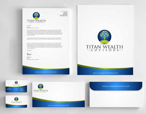 Business Card, 2-Pocket Folder, Letterhead  Business Cards and Stationery  Draft # 265 by Dawson
