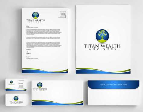 Business Card, 2-Pocket Folder, Letterhead  Business Cards and Stationery  Draft # 267 by Dawson