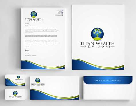 Business Card, 2-Pocket Folder, Letterhead  Business Cards and Stationery  Draft # 269 by Dawson