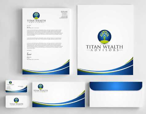 Business Card, 2-Pocket Folder, Letterhead  Business Cards and Stationery  Draft # 274 by Dawson