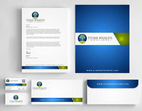 Business Card, 2-Pocket Folder, Letterhead  Business Cards and Stationery  Draft # 280 by Dawson