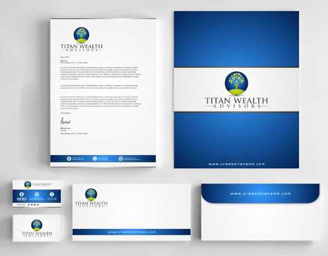 Business Card, 2-Pocket Folder, Letterhead  Business Cards and Stationery  Draft # 282 by Dawson