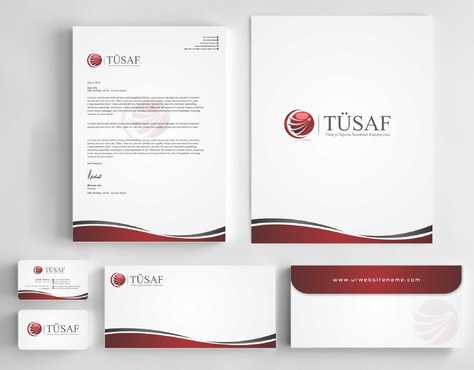 Türkiye Sigorta Acenteleri Federasyonu Business Cards and Stationery  Draft # 170 by Dawson