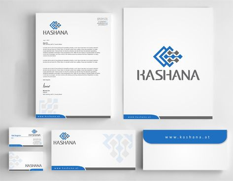 Kashana Business Cards and Stationery  Draft # 237 by Dawson