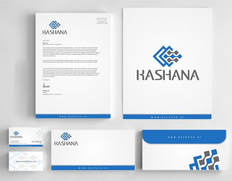 Kashana Business Cards and Stationery  Draft # 239 by Dawson