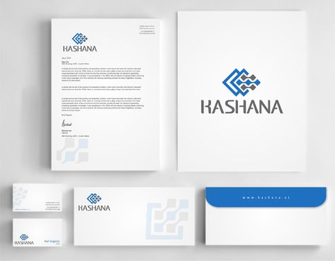Kashana Business Cards and Stationery  Draft # 241 by Dawson
