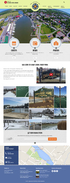 Lewes canal front park Blog Design Template  Draft # 18 by Pixelwebplanet