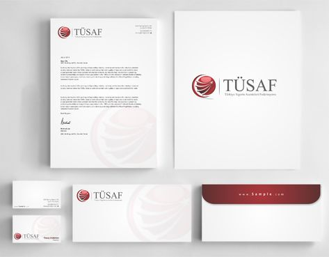 Türkiye Sigorta Acenteleri Federasyonu Business Cards and Stationery  Draft # 219 by Dawson