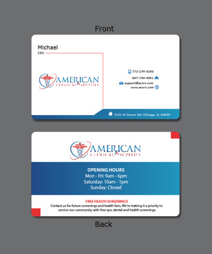Medical and Dental Supplies Marketing collateral  Draft # 22 by Tjcdesign
