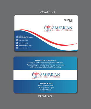 Medical and Dental Supplies Marketing collateral  Draft # 23 by Tjcdesign