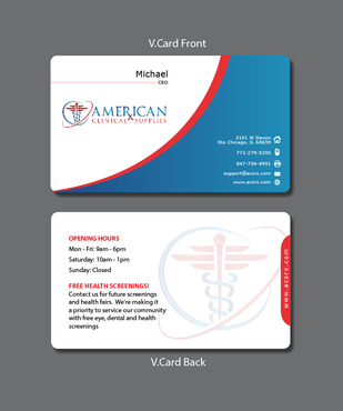 Medical and Dental Supplies Marketing collateral  Draft # 26 by Tjcdesign