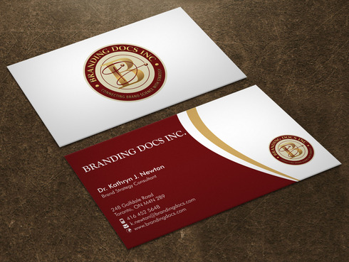 BrandingDocs Inc. Business Cards and Stationery  Draft # 74 by Xpert