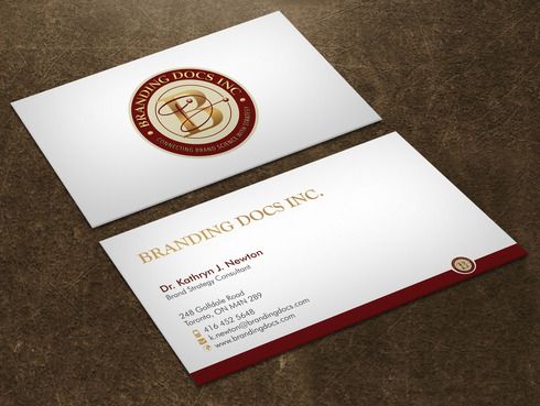 BrandingDocs Inc. Business Cards and Stationery  Draft # 75 by Xpert