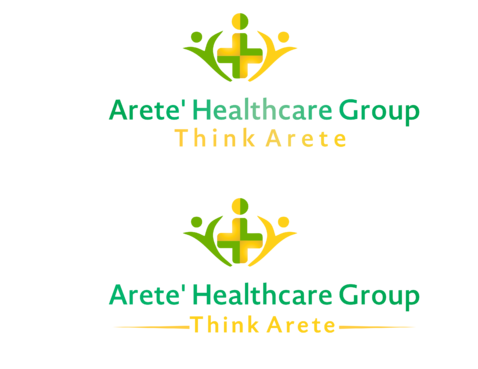Arete' Healthcare Group A Logo, Monogram, or Icon  Draft # 65 by shahiqbal