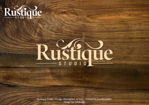 Rustique Studio A Logo, Monogram, or Icon  Draft # 37 by validesign