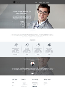 Think Tech Solutions Web Design  Draft # 58 by xclusivedesigns