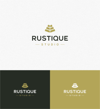 Rustique Studio A Logo, Monogram, or Icon  Draft # 88 by ambigram
