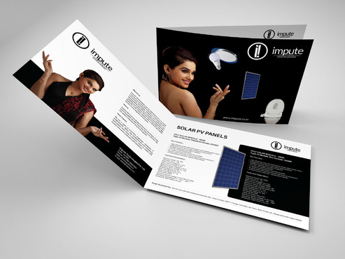 Design brochure for products including - Solar Panels, Solar inverter, Electronic Bidet, LED Bulb Marketing collateral  Draft # 13 by gugunte