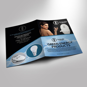 Design brochure for products including - Solar Panels, Solar inverter, Electronic Bidet, LED Bulb Marketing collateral  Draft # 35 by destudio